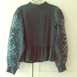 Hunter Blouse with Beautifully Detailed Sleeves